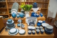 Denby Pottery available in the Home & Garden Department. Azure and Imperial Blue patterns shown